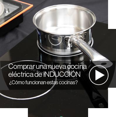 Cocinas a inducci n el comercio - Cocina de induccion ...