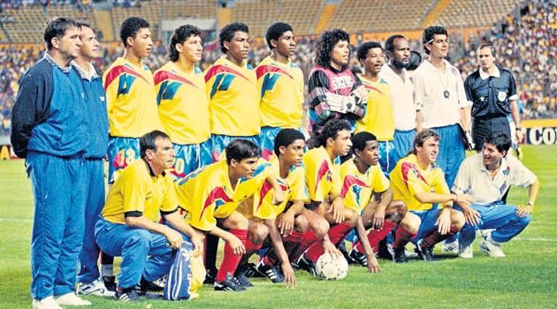 Resultado de imagen para selección de ecuador copa america 1999