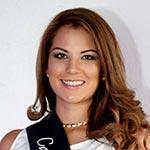María José Reyes, candidata a Reina de Quito