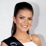 Simone Serrano, candidata a Reina de Quito
