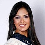 Tiffany Zelig, candidata a Reina de Quito