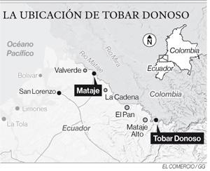 FF.AA. reforzó la seguridad en Tobar Donoso