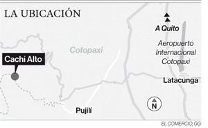 Comunidades de Pujilí están en riesgo por deslizamientos