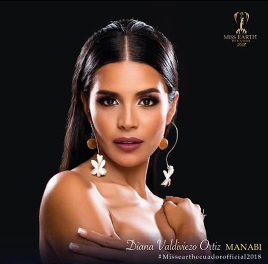 Diana Valdiviezo se coronó Miss Earth y representará al Ecuador en Filipinas