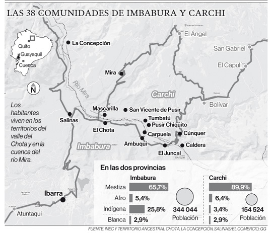 Comunas afrodescendientes de la Sierra Norte piden atención