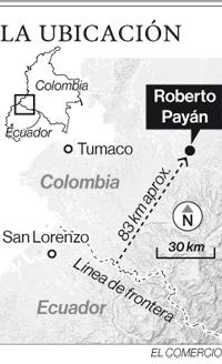 Fuerzas armadas de Ecuador y Colombia cercaron a 'Guacho' en Nariño