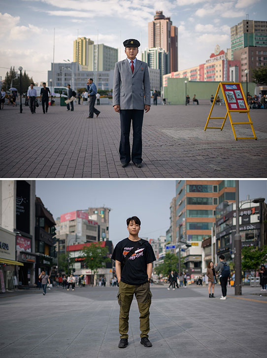 Estudiantes coreanos
