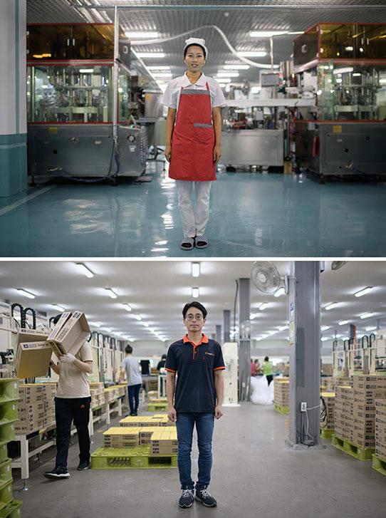 Trabajadores fábricas