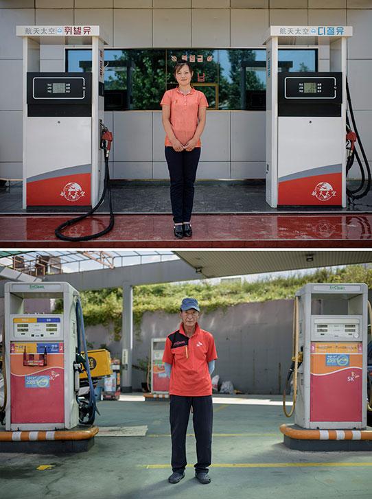 Empleados gasolineras
