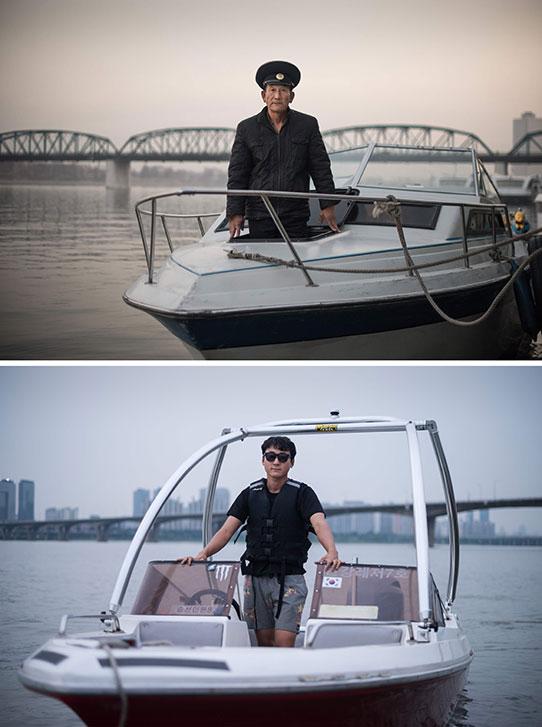 Navegantes surcoreanos
