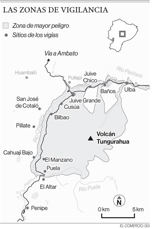 Un reconocimiento a los vigìas del volcán