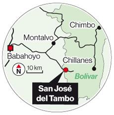 San José del Tambo fue destruida por el río