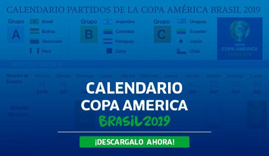 Calendario Copa.Conozca Y Descargue El Calendario De Los Partidos De La Copa America
