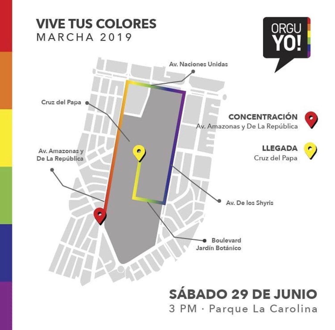 ¿Invitan al alcalde Jorge Yunda a la marcha por el Orgullo Lgbti en Quito?, AU-D se suma