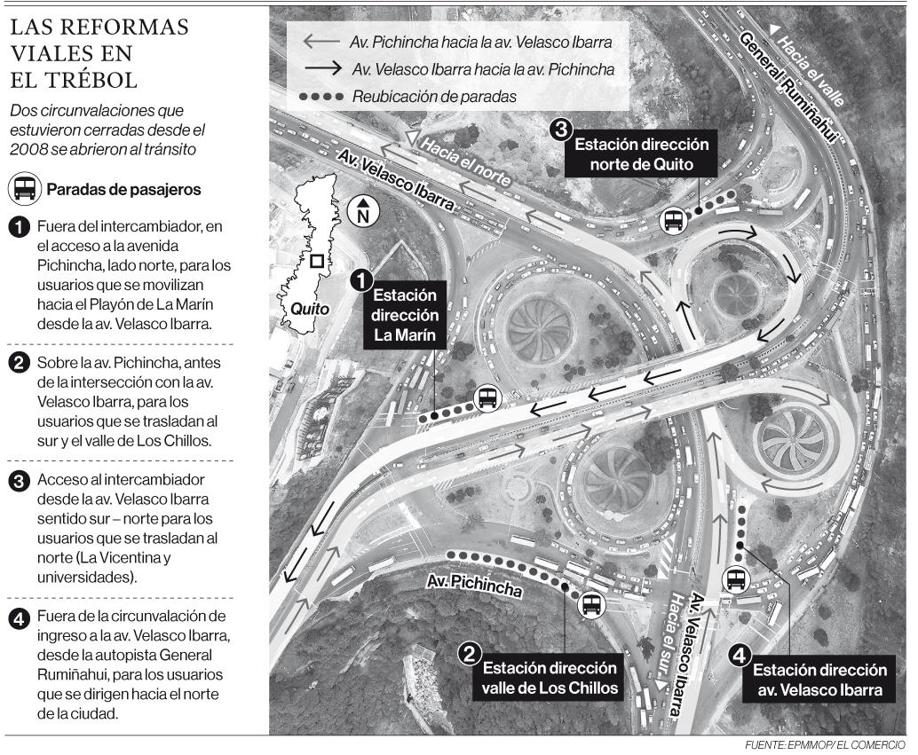 Falta de señalética confunde a pasajeros en El Trébol