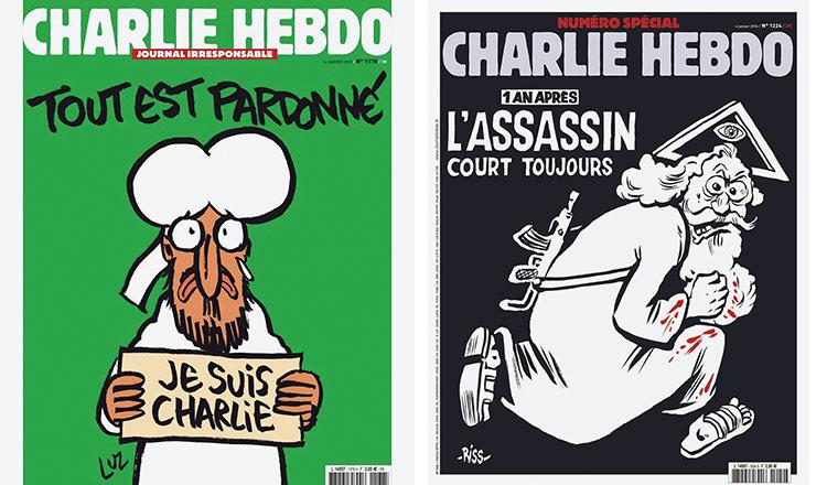 Revistas Charlie Hebdo