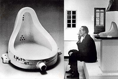 El francés Marcel Duchamp