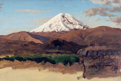 Obra 'El Chimborazo' (1859)
