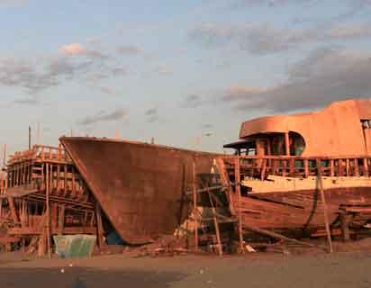 19 barcos de pesca están en el astillero de Manta.