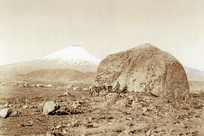 El volcán Cotopaxi en 1902