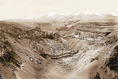 El volcán Cotopaxi en 1903
