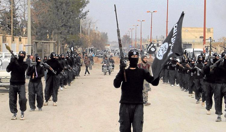 Estado Islámico en Medio Oriente