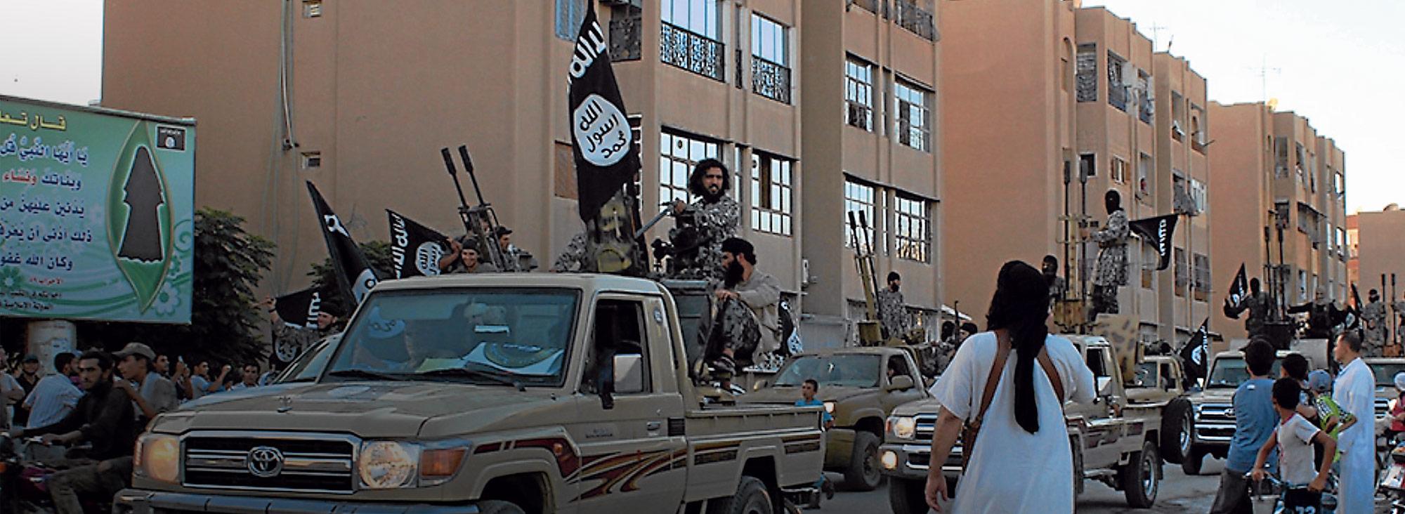 El EI aprovechó la situación política de Iraq y Siria