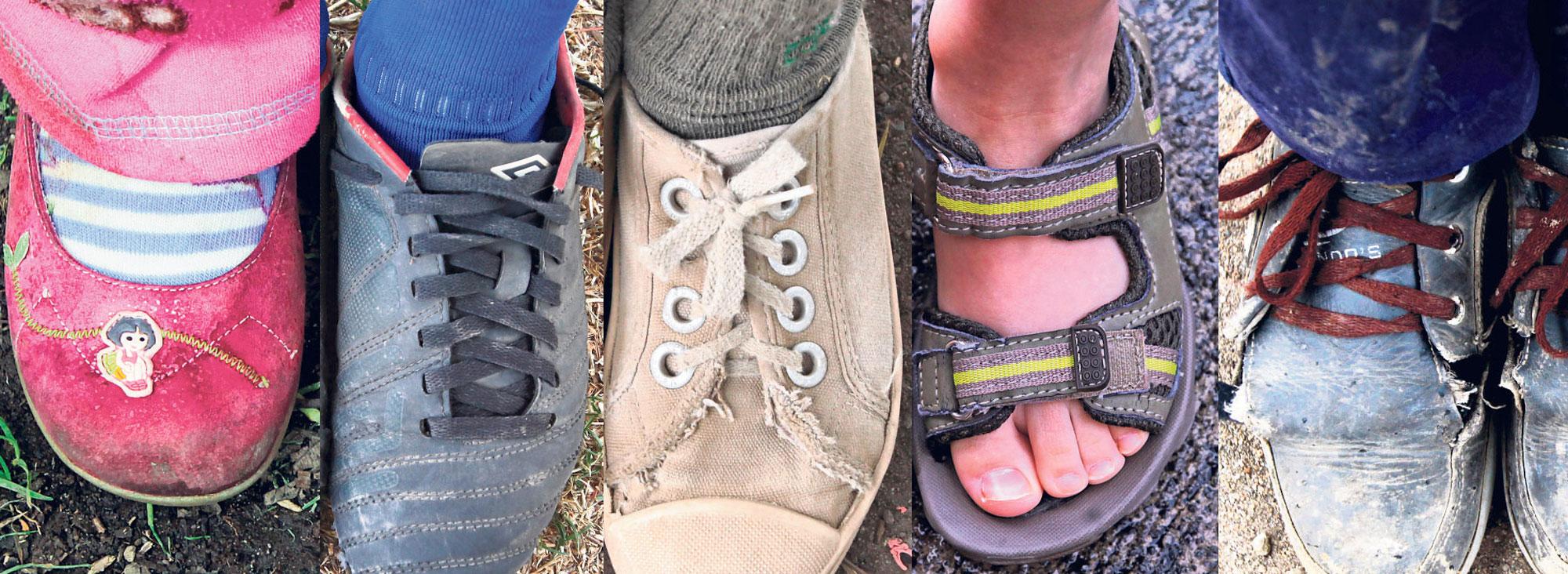 Historias y zapatos