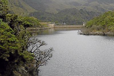 La laguna Recay,