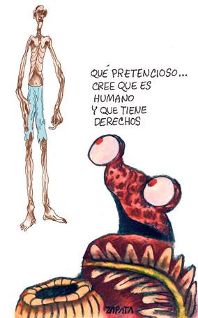 Caricatura de Zapata