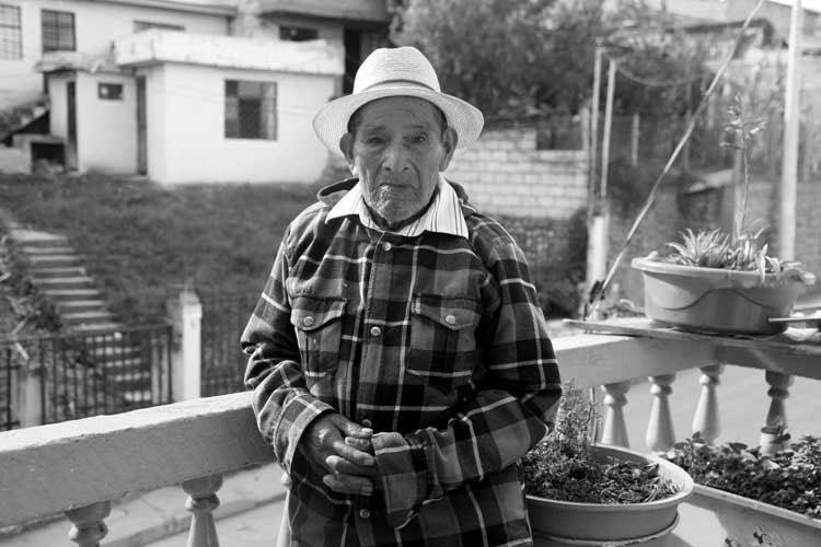 Benedicto Salinas, agricultor