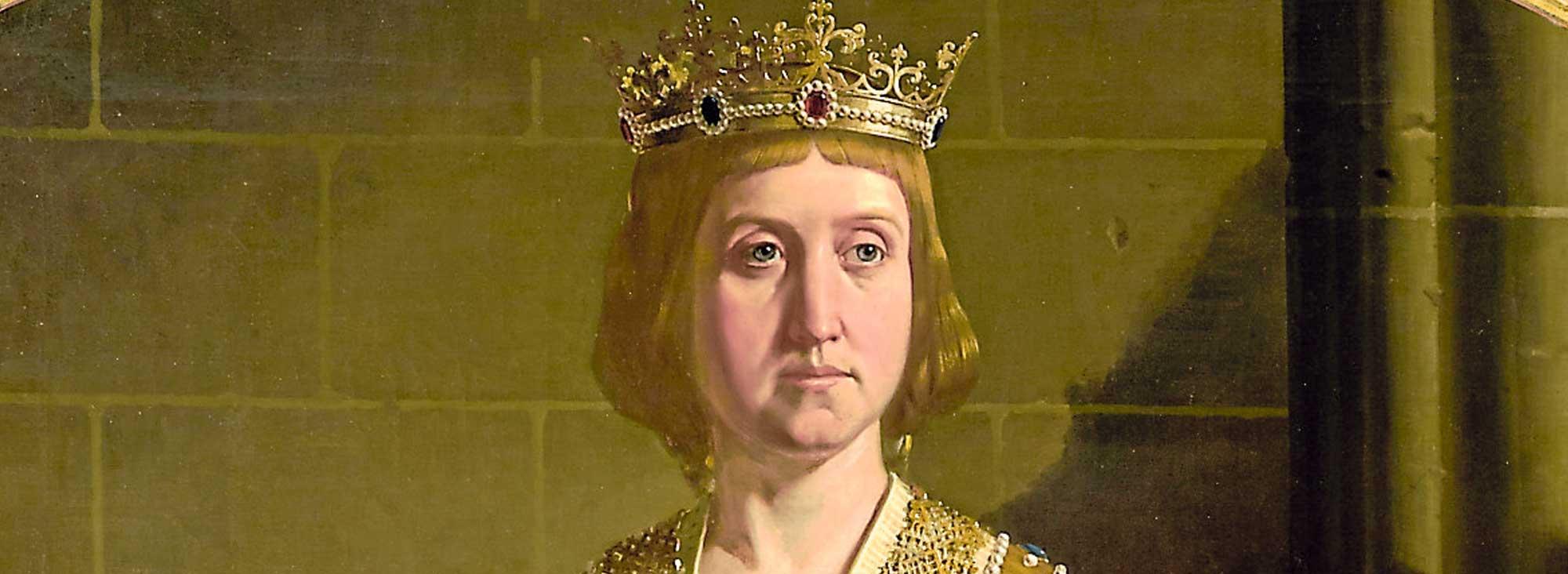 Isabel I de Castilla  fue reina entre 1474 y 1504, cuando murió.
