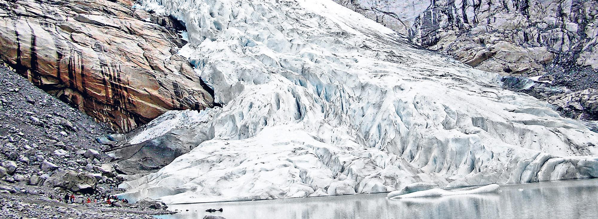 El deshielo es la principal preocupación en toda la zona antártida.