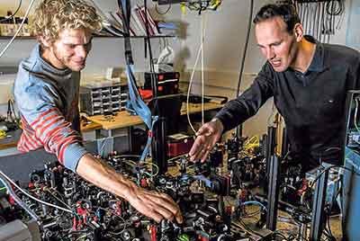 El entrelazamiento cuántico