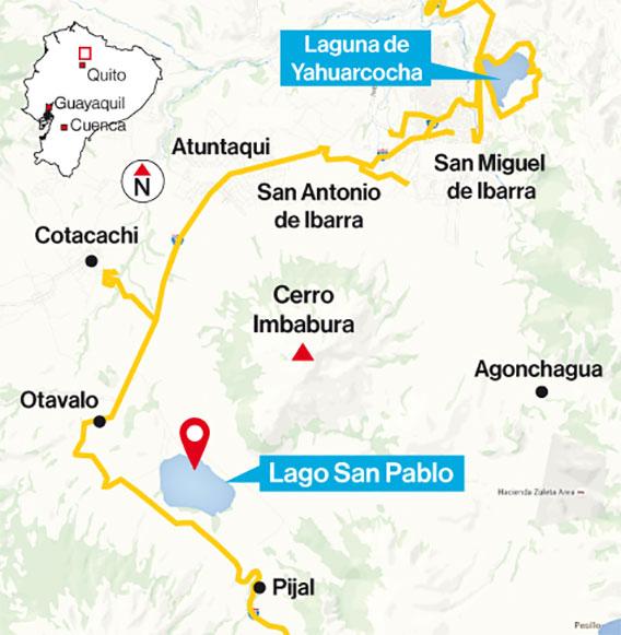Yahuarcocha y San Pablo