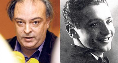 Enrique Vila-Matas (Izq.). Jorge Icaza (der.)