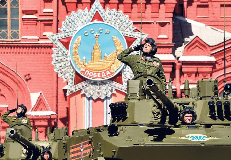 Soldados rusos participaron