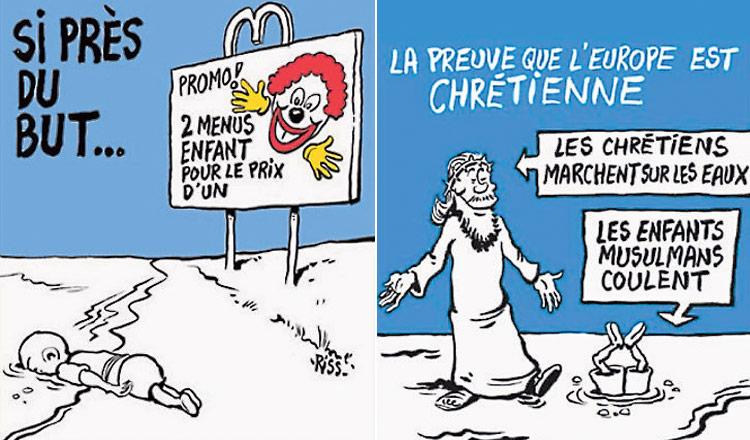 Caricatura de Charlie Hebdo