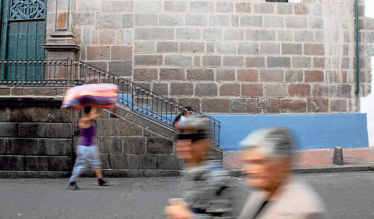 En cada uno de los cuatro barrios incas