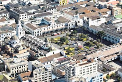 Vista de la Plaza Mayor
