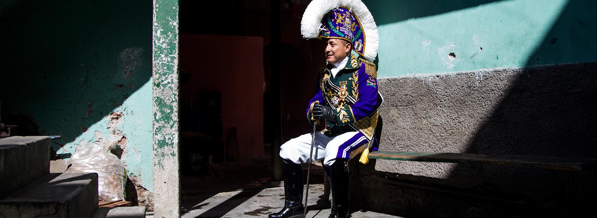 La Mama Negra es una fiesta tradicional de Latacunga
