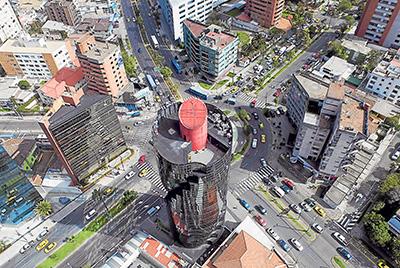 Rascacielos en Quito