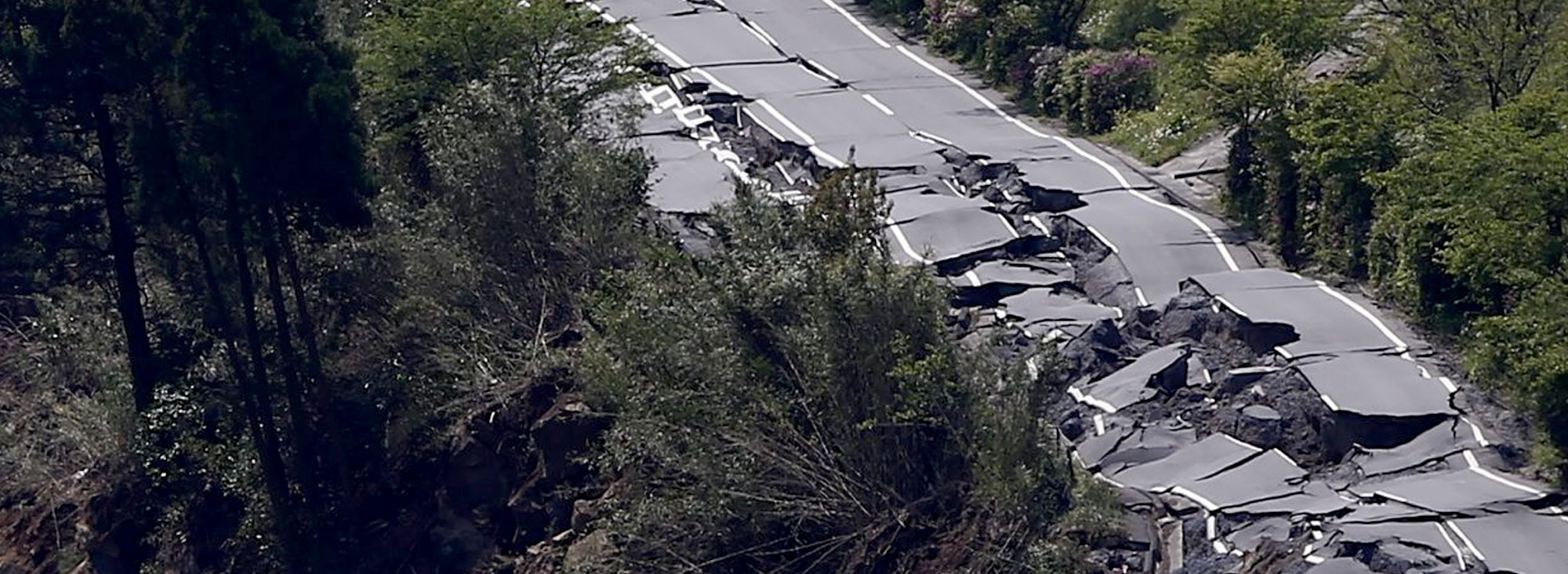 Slider terremoto